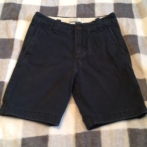B2G1! Abercrombie Kids Boys 8 Navy Chino Shorts